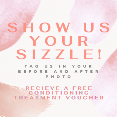 show us your sizzle july august special offer personal images jackson mi hair salon